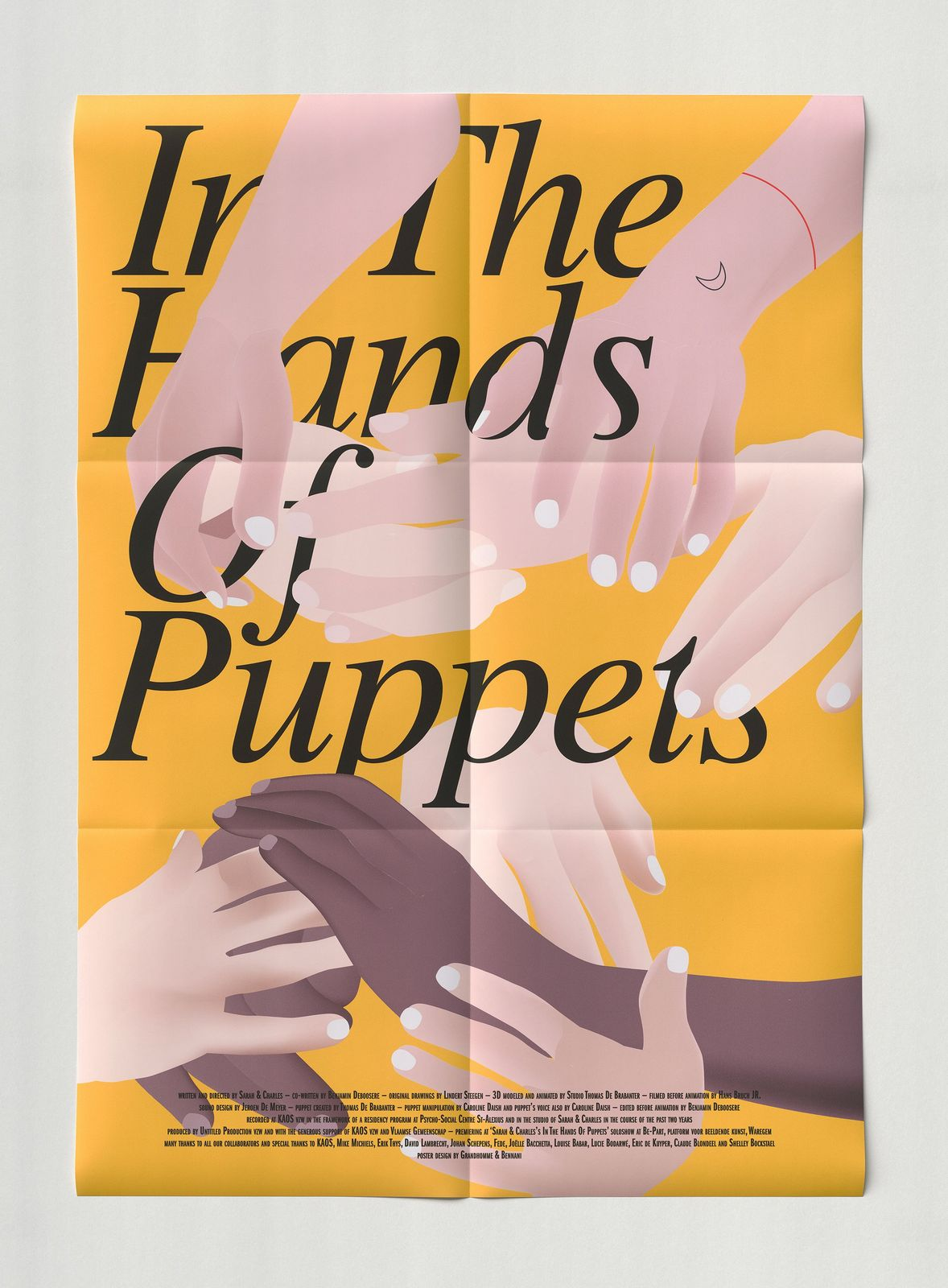 Movie poster: In the hands of puppets, 2019